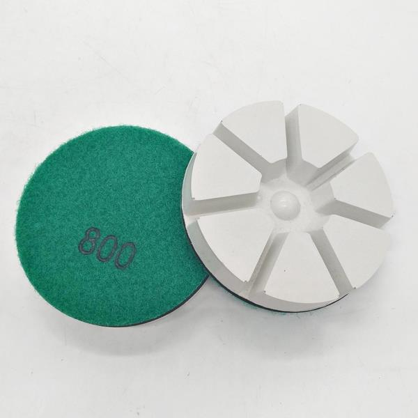 New Type White Floor Resin Bond Polishing Pads