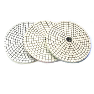 White Grid 3-Step Wet & Dry Polishing Pads 3SP-02