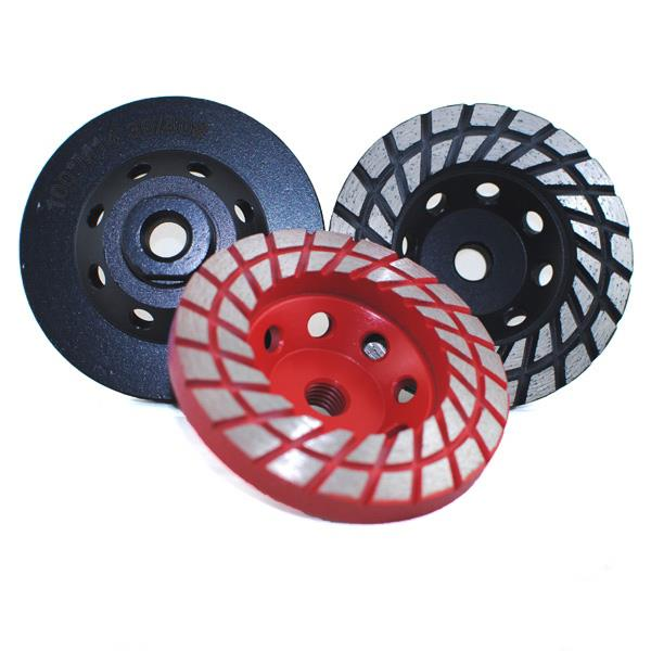 Concrete Paving Diamond Cup Turbo Grinding Wheel
