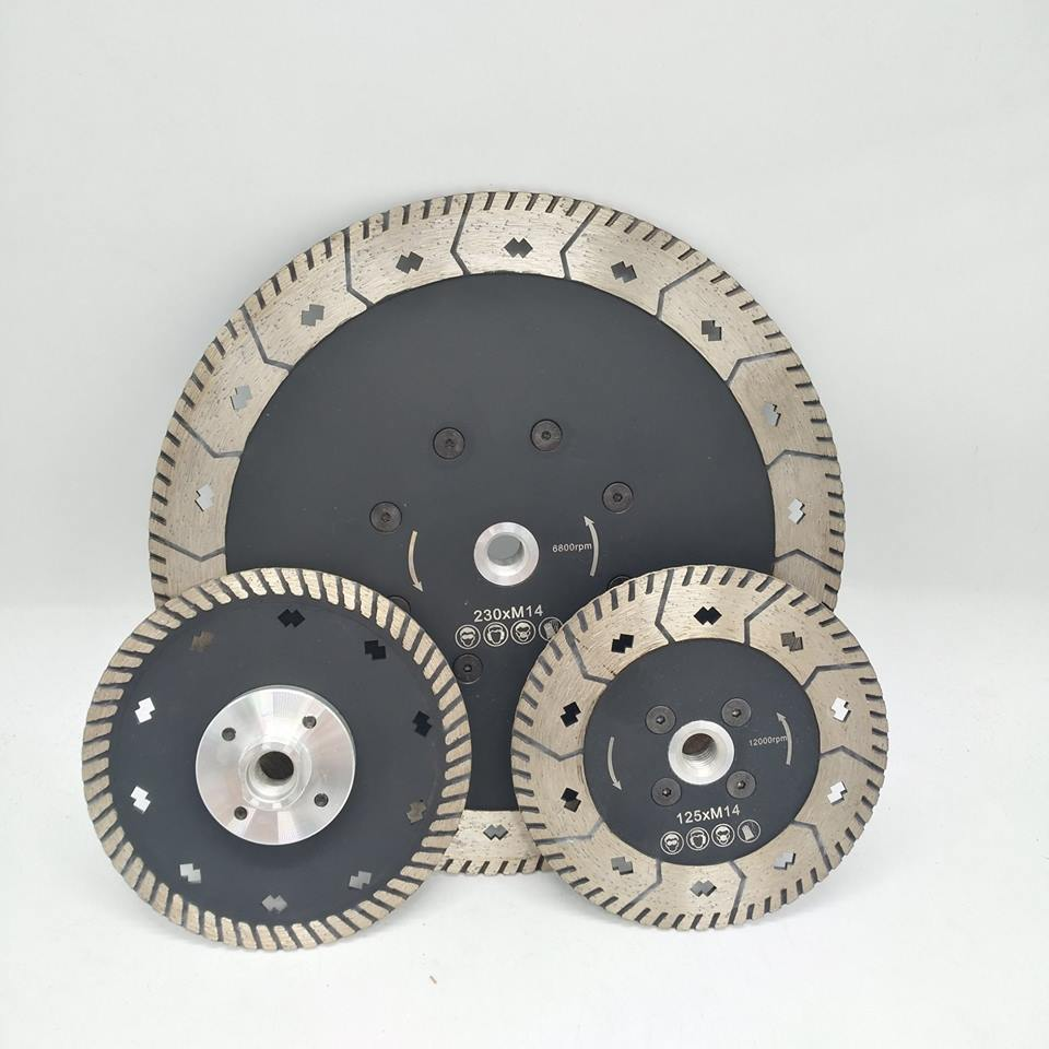 Diamond Cutting&Grinding Saw Blades 230mm and 125mm Diameter