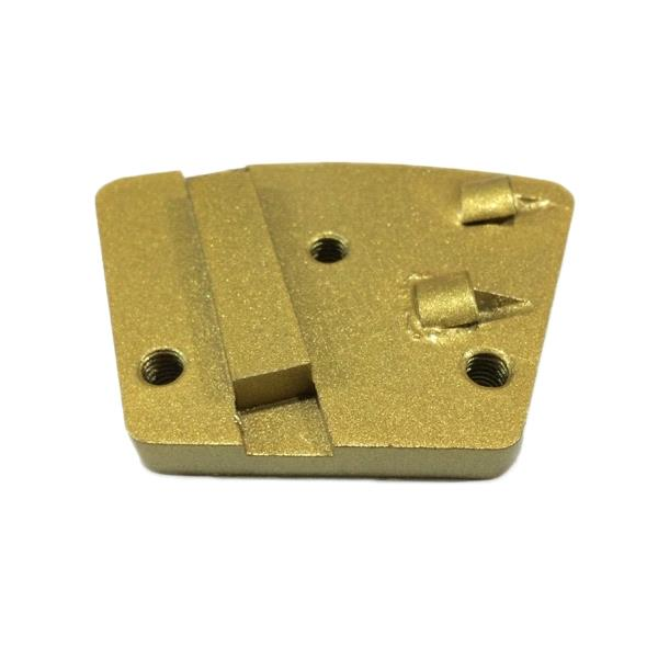 Concrete Grinding Trapezoid PCD Diamond For Epoxy Removal PCD-S13412