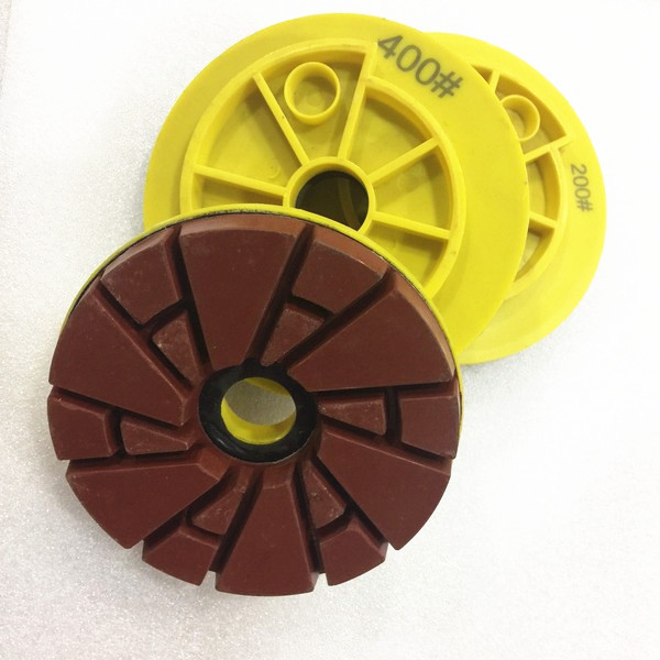 Snail Lock 125mm Stone Edge Polishing Pad With Competitive Price