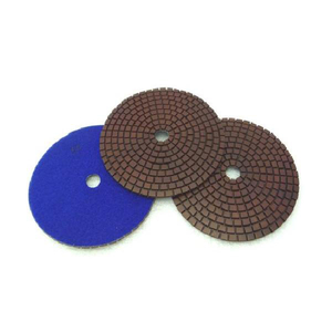 Diametre 4'' Copper Flexible Marble Wet Polishing Pad
