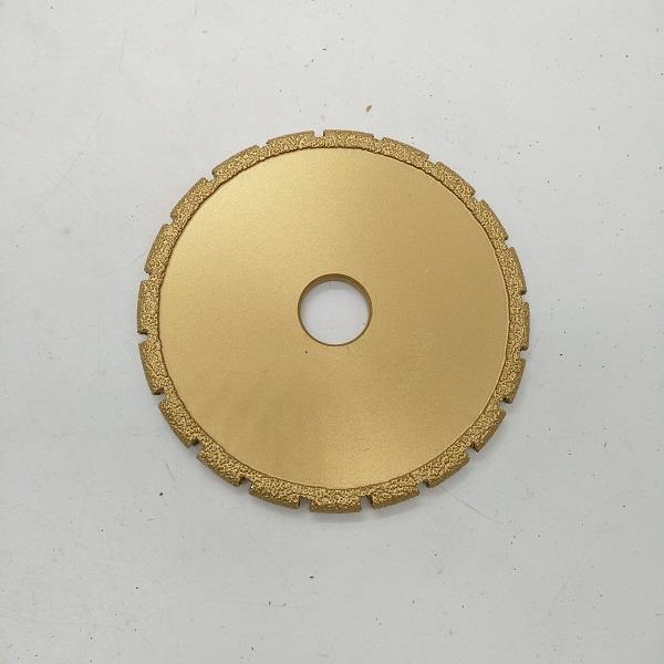 5-inch Brazed Diamond Grinding Wheel Grinder Tool