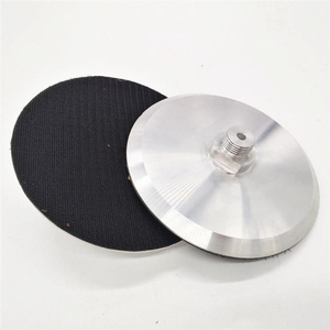 150mm Aluminium Backer Pad With 1/2''GAS For CNC Machine