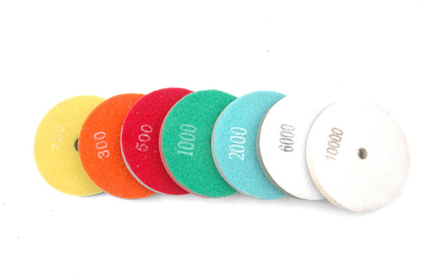 4 Inch Fiber Sponge Polishing Pad For Marble Stone And Floor
