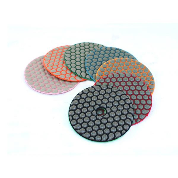 Premium Resin Matte Dry Polishing Pads With Velcro Backed DMD-N1