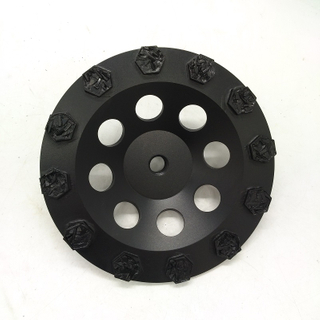 Particle Alloy Diamond Cup Wheel for Grinding Concrete, Epoxy, and Coatings